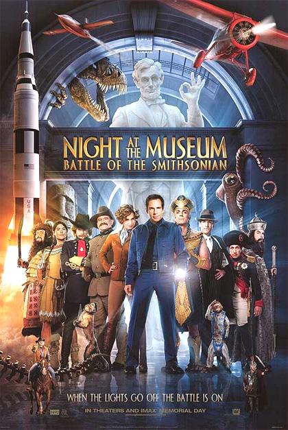 Risultati immagini per una notte al museo poster