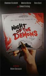 Locandina Night of the Demons