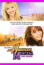 Locandina Hannah Montana: The Movie