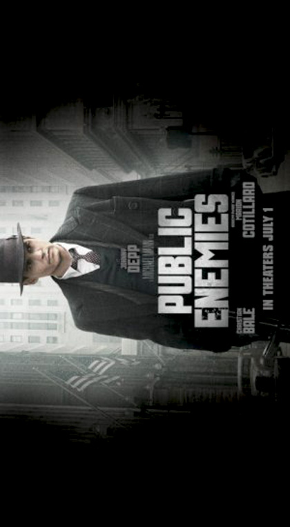 Poster Nemico Pubblico - Public Enemies