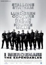 Locandina I mercenari - The Expendables