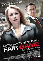 Locandina Fair Game - Caccia alla Spia