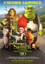 Locandina Shrek e vissero felici e contenti
