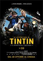 Locandina Le avventure di Tintin � Il segreto dell'Unicorno