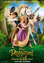 Locandina italiana Rapunzel - L'Intreccio della Torre