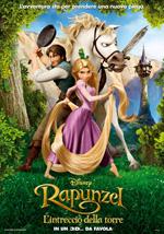 Locandina italiana Rapunzel - L'Intreccio della Torre