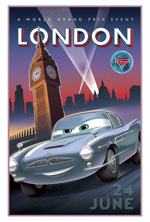 Poster Cars 2  n. 12