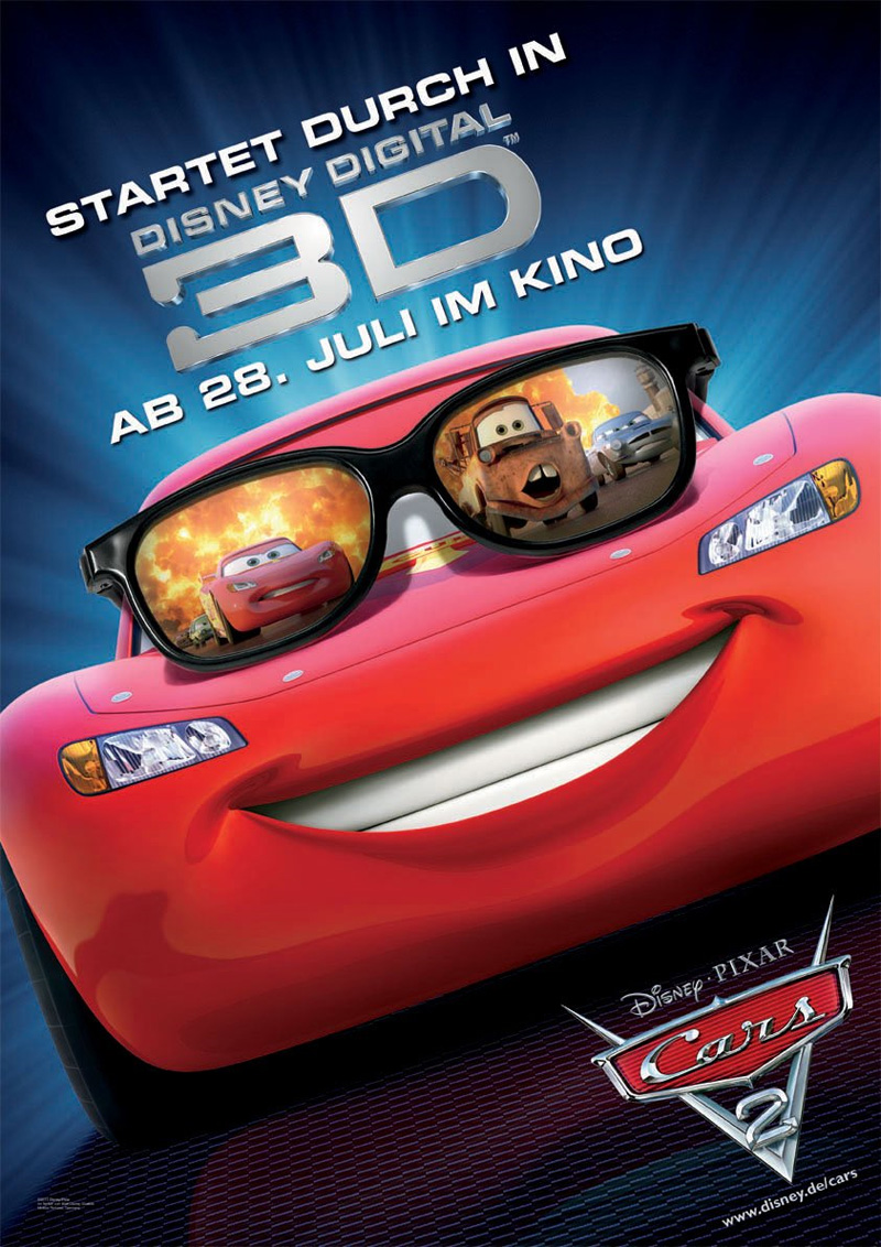 Guarda gratis Cars 2 in streaming italiano HD