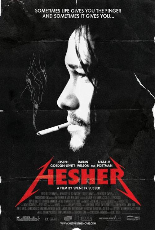 Poster Hesher è stato qui