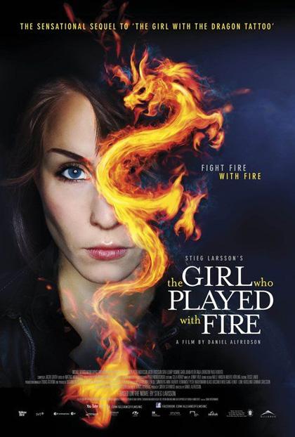 Poster La ragazza che giocava con il fuoco