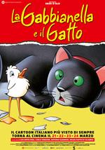 Locandina La gabbianella e il gatto