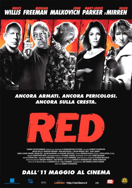 Locandina italiana Red