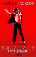 Poster Michael Jackson's This Is It  n. 3
