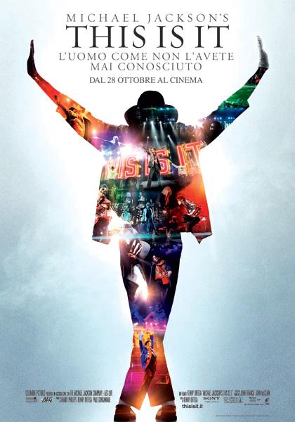 Locandina Michael Jackson's This is it