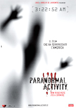 Locandina Paranormal Activity