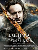 Locandina italiana L'ultimo dei Templari