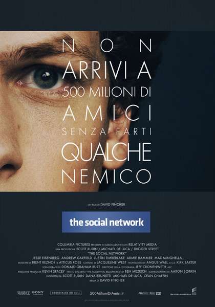 Locandina italiana The Social Network