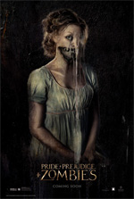 Poster Ppz - Pride and Prejudice and Zombies  n. 2