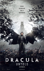 Poster Dracula Untold  n. 1