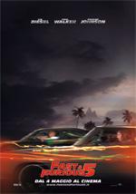 Locandina italiana Fast & Furious 5
