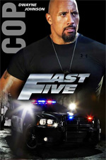 Poster Fast & Furious 5  n. 16