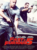 Poster Fast & Furious 5  n. 3