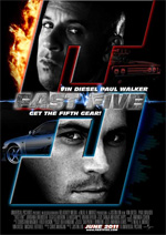 Poster Fast & Furious 5  n. 4