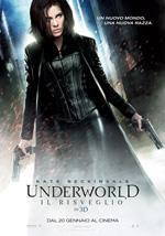 Locandina italiana Underworld - Il risveglio 3D