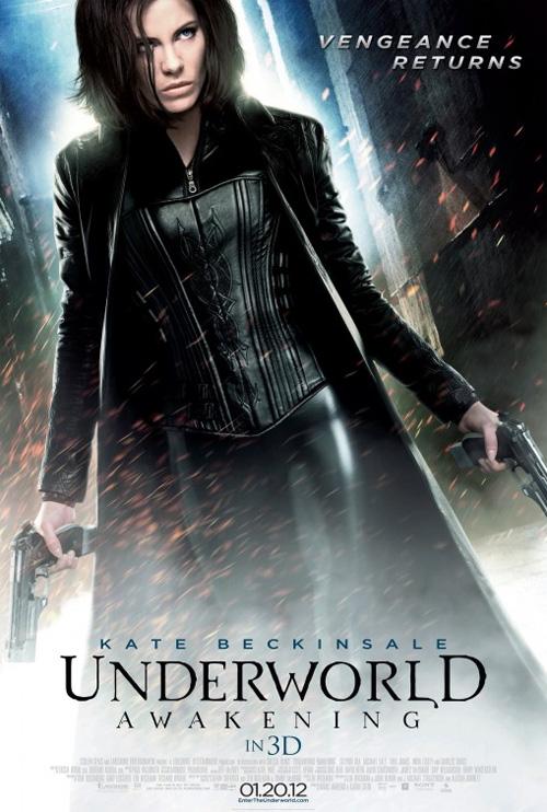 Poster Underworld - Il risveglio 3D