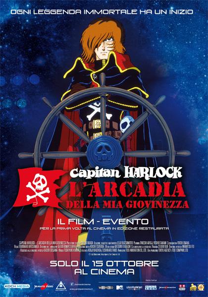 Capitan Harlock – L'arcadia della mia giovinezza in streaming & download