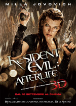 Locandina Resident Evil: Afterlife