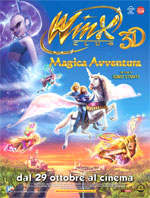 Locandina Winx Club 3D - Magica Avventura