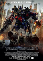 Locandina Transformers 3