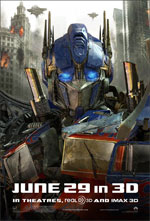 Poster Transformers 3  n. 20