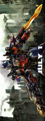 Poster Transformers 3  n. 9