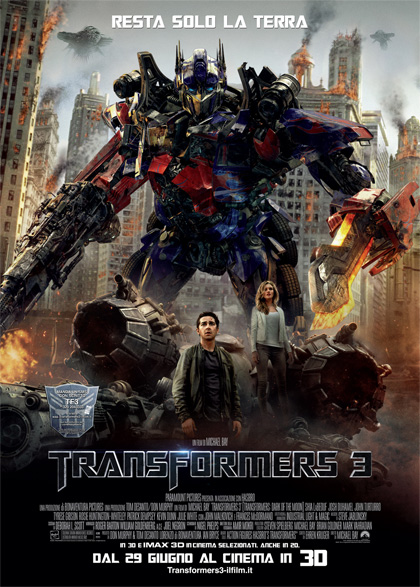 Guarda in streaming Transformers 3 e scarica il Torrent ITA