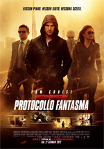 Locandina italiana Mission Impossible - Protocollo Fantasma