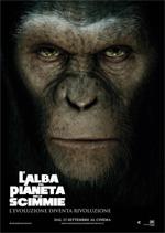 Locandina italiana L'alba del pianeta delle scimmie