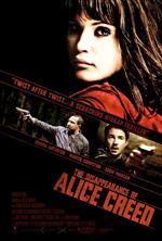 Locandina italiana La scomparsa di Alice Creed