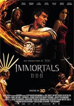 Locandina Immortals 3D