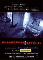 Locandina Paranormal Activity 2