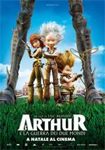 Locandina Arthur e la guerra dei due mondi