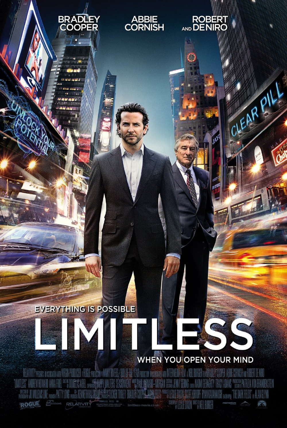 Guarda gratis Limitless in streaming italiano HD