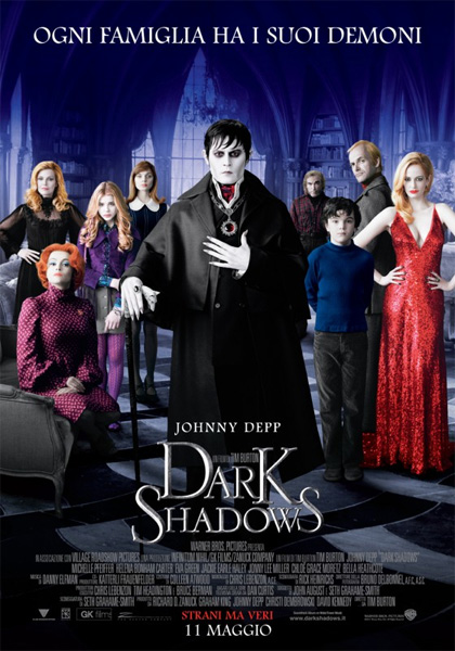 Guarda in streaming Dark Shadows e scarica il Torrent ITA