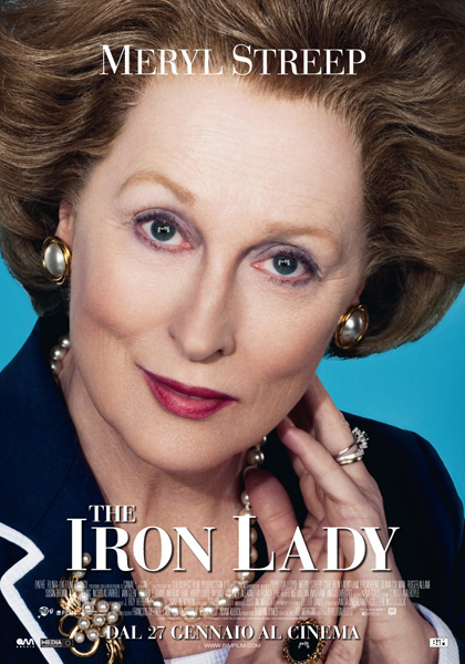 Locandina italiana The Iron Lady