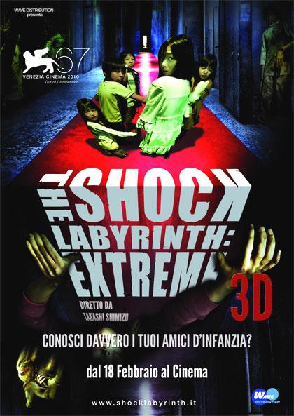 Locandina italiana The Shock Labyrinth: Extreme 3D