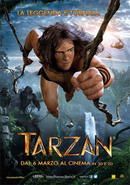 Locandina italiana Tarzan