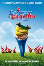 Locandina Gnomeo & Giulietta