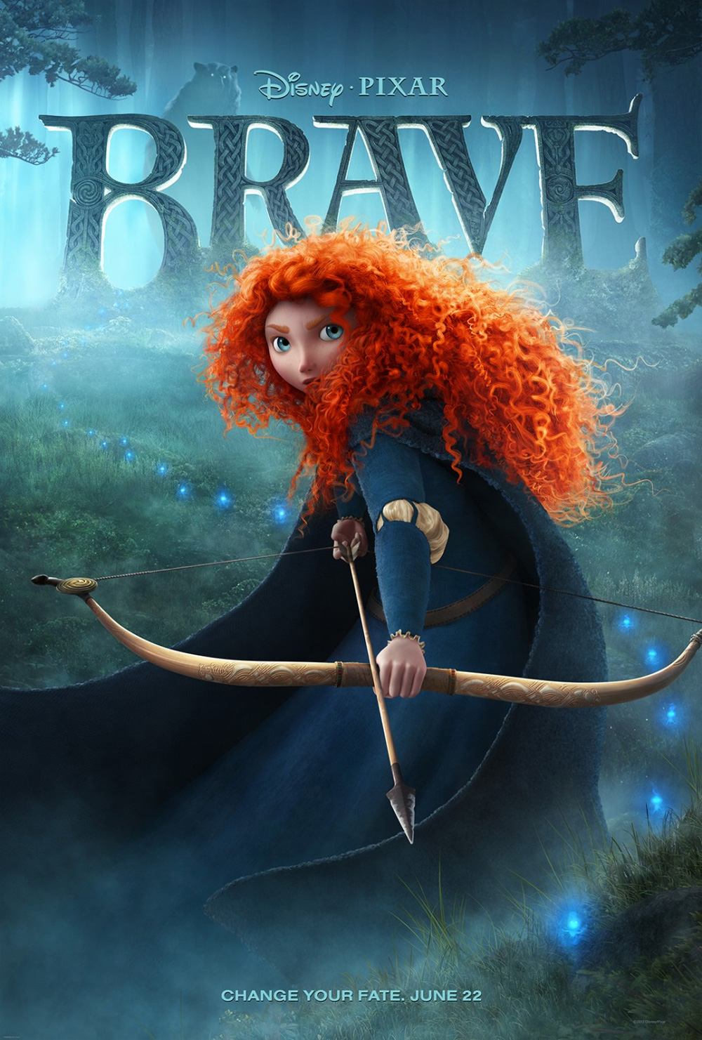 Guarda gratis Ribelle – The Brave in streaming italiano HD