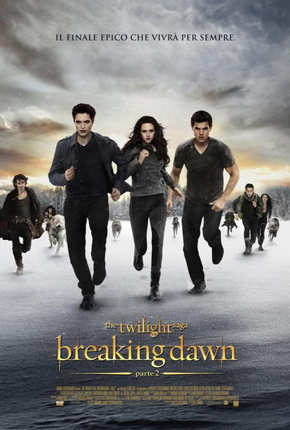 Locandina The Twilight Saga: Breaking Dawn – Parte 2